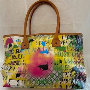 EUC! Gwen Stefani L.A.M.B.Graphic Tote Bag Large